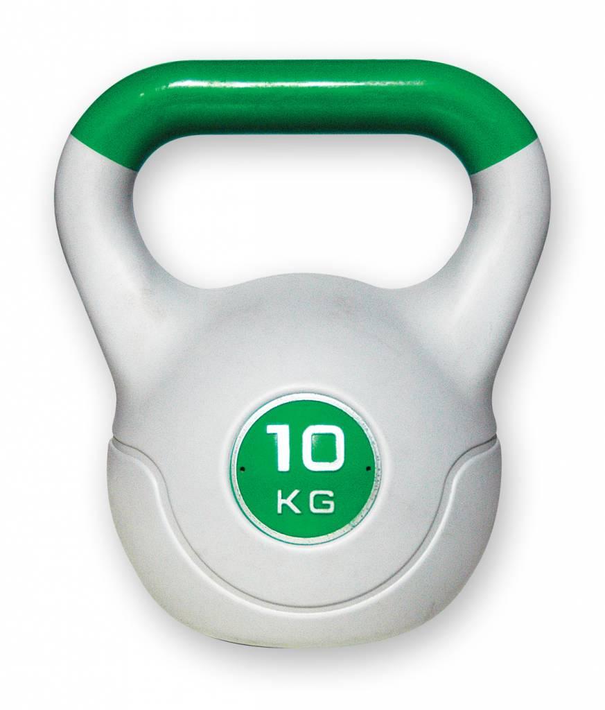 Kettlebell 10 Kg: Kunststof Aerobic Kettlebell 10 Kg Groen
