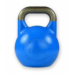 Competition kettlebell 12 kg staal - competitie kettlebell