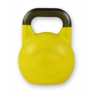 Competition kettlebell 14 kg staal - competitie kettlebell