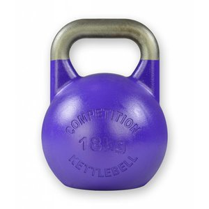 Competition kettlebell 18 kg staal - competitie kettlebell