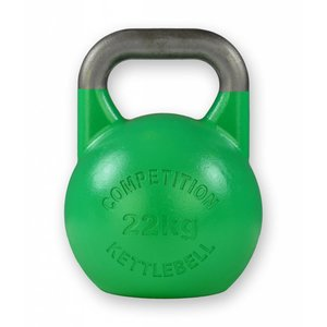 Competition kettlebell 22 kg staal - competitie kettlebell