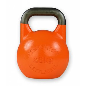 Competition kettlebell 28 kg staal - competitie kettlebell