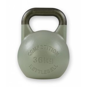Competition kettlebell 36 kg staal - competitie kettlebell