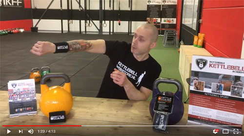 KettleGuard - Kettlebell Sport Wrist Guards - Video