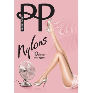 "Pretty Polly 10D. ""Nylons"" gloss Tights"
