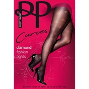 Pretty Polly Dot Diamond Fashion Tights