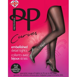 Pretty Polly Embellished Detail Panty