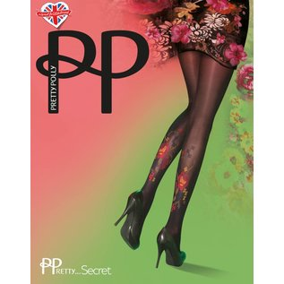 Pretty Polly Darkly Floral Tights