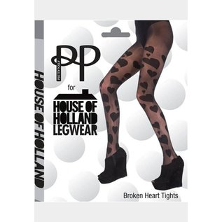 House of Holland Broken Hearts Tights from House of Holland