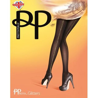 Pretty Polly Gold Backseam Opaque Tights