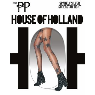 House of Holland Sparkly Silver Star panty