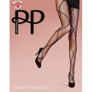 Pretty Polly Diamond Fishnet Tights