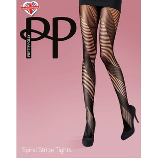 Pretty Polly Spiral Stripe panty