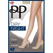 Pretty Polly 15D Sheer Tights 3 pair pack