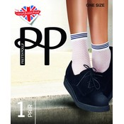Pretty Polly Diamond Mesh Anklet