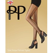 Pretty Polly Side Stripe Fishnet Tights
