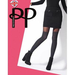 Pretty Polly Marl OTK Cable Sock Tights