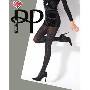 Pretty Polly Pretty Polly Silver Print Panty