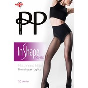 Pretty Polly Firm Shaper Tights with patterned brief