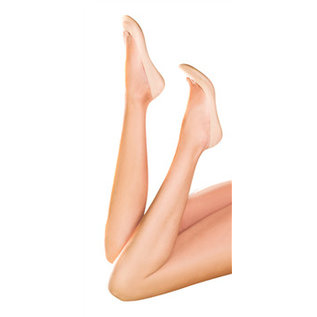 Pretty Polly 8 Den.Naturals Footsies- Skintones