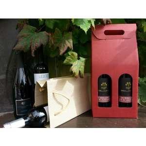 Carton winebox for 2 bottles
