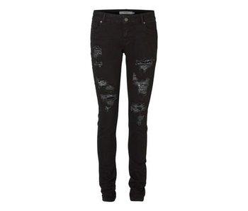 Jeans met scheuren