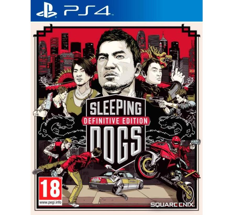 PS4 Sleeping Dogs Definitive Edition