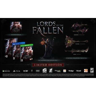 Easy Interactive PS4 Lords of the Fallen Limited Edition