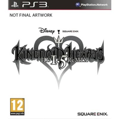 Square PS3 Kingdom Hearts HD 1.5 Remix