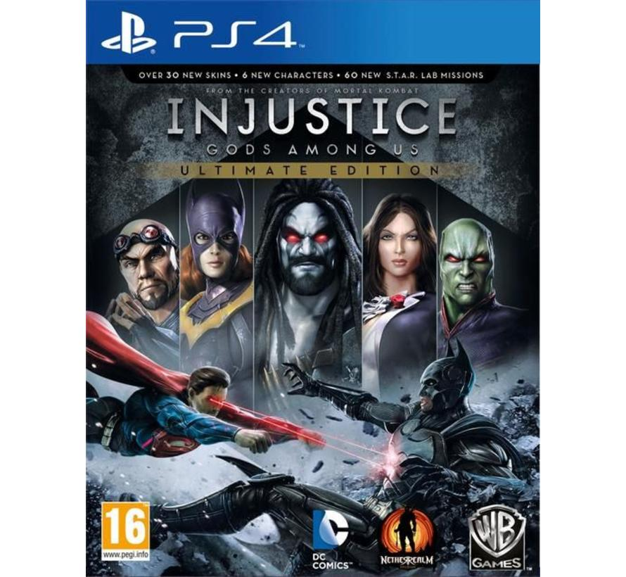 PS4 Injustice: Gods Among Us Ultimate edition
