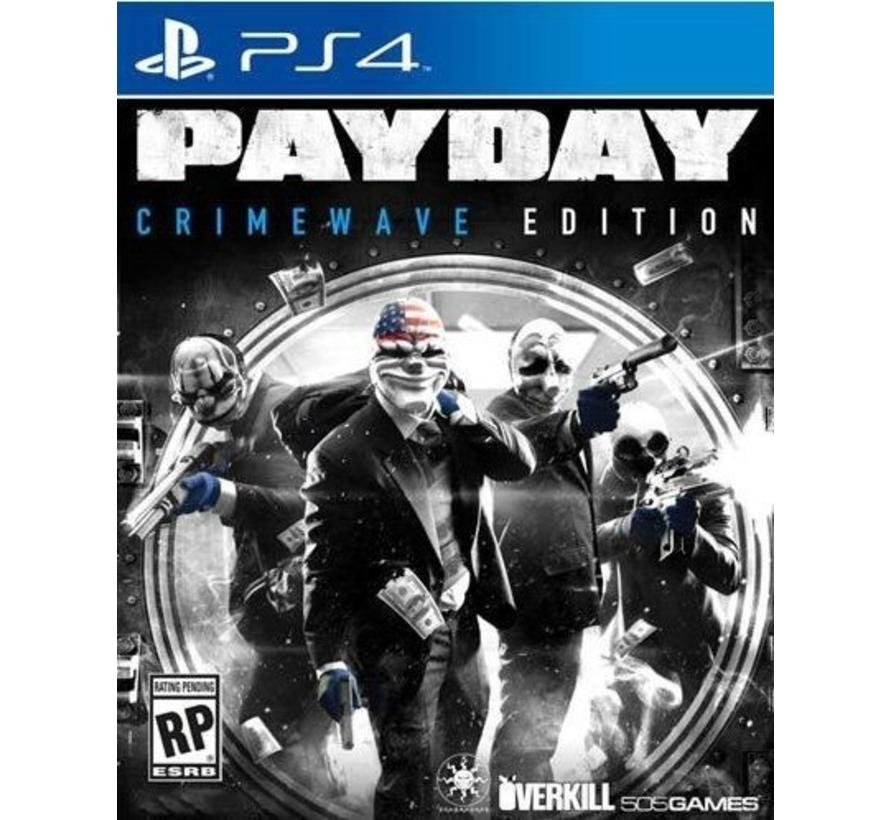 PS4 Payday 2: Crime Wave Edition