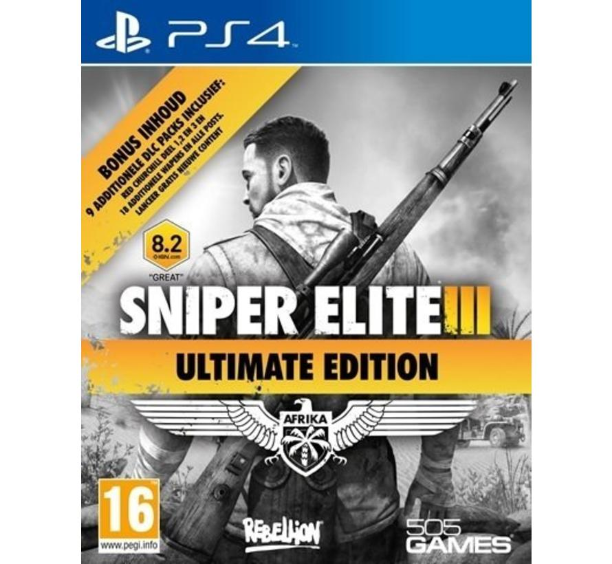 PS4 Sniper Elite III: Afrika - Ultimate Edition