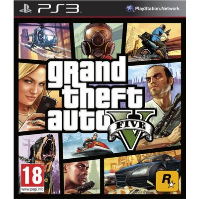Take Two PS3 Grand Theft Auto V (GTA 5)