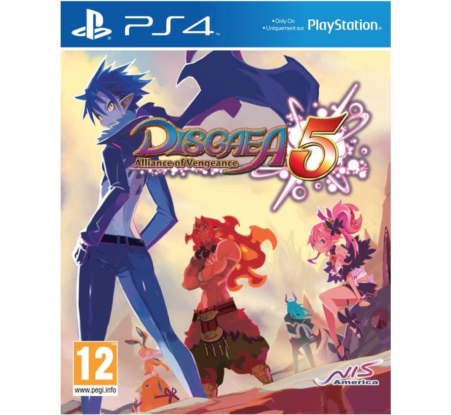 PS4 Disgaea 5: Alliance of Vengeance