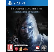 Warner PS4 Middle-Earth Shadow Of Mordor Game of the Year Edition