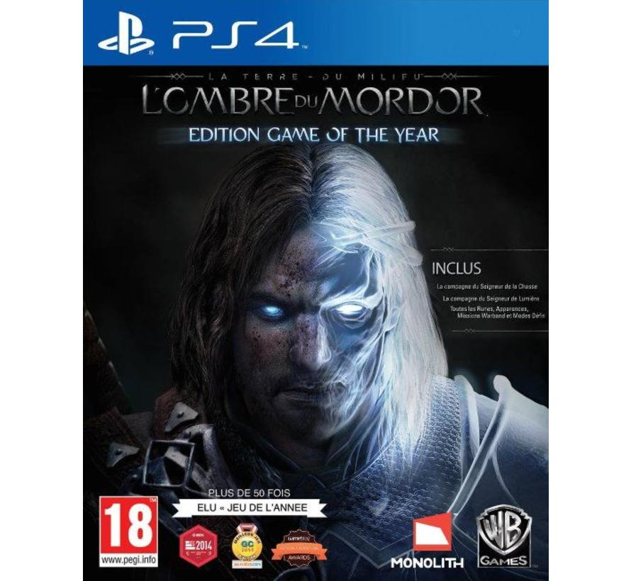 PS4 Middle-Earth Shadow Of Mordor Game of the Year Edition