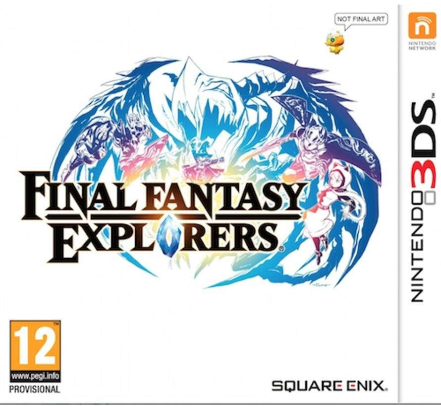 3DS Final Fantasy: Explorers