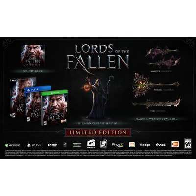 Namco Bandai Xbox One Lords of the Fallen Limited Edition