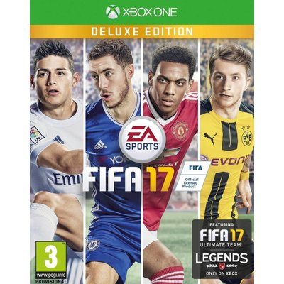 EA Xbox One FIFA 17 Deluxe Edition