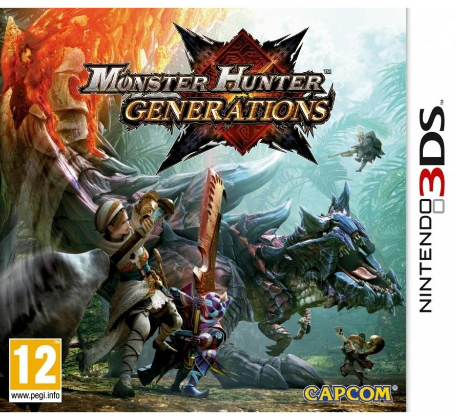 3DS Monster Hunter: Generations
