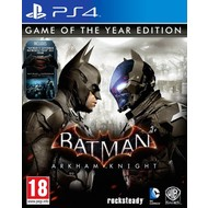 Warner PS4 Batman: Arkham Knight Game of the Year Edition