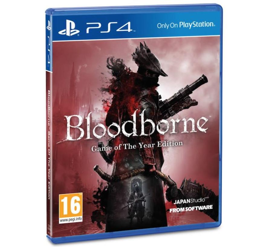 PS4 Bloodborne Game Of The Year Edition
