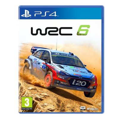 Bigben Interactive PS4 WRC: FIA World Rally Championship 6
