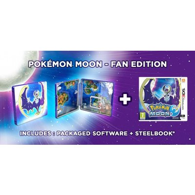 Nintendo 3DS Pokemon Moon Fan Edition