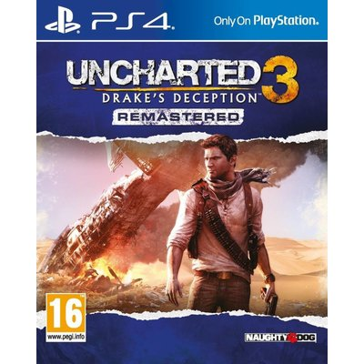 Sony PS4 Uncharted 3: Drake's Deception Remastered