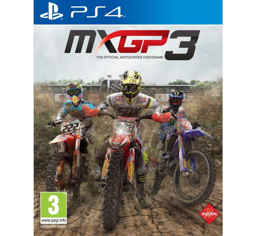 PS4 MXGP 3: The Official Motocross Videogame