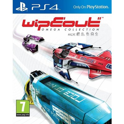 PS4 WipEout Omega Collection