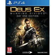 Square PS4 Deus Ex: Mankind Divided - Day One Edition