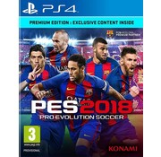 Konami PS4 Pro Evolution Soccer 2018 (PES)