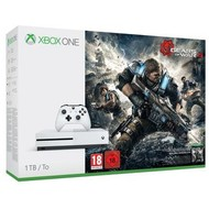 Microsoft Xbox One S Console (1 TB) + Gears of War 4